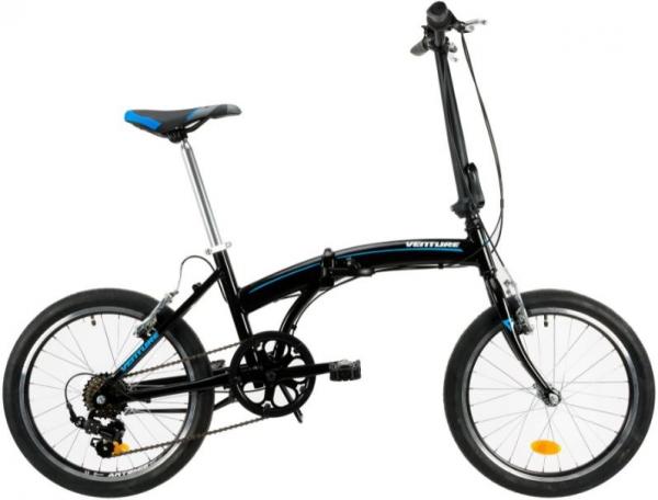 Bicicleta Pliabila Venture 2091 Negru 20 Inch 0