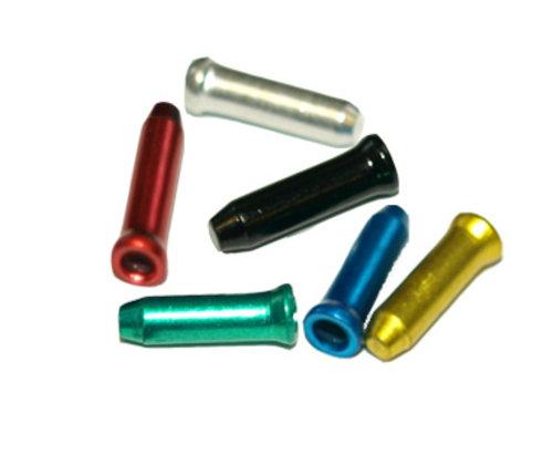 Cap terminal cabluri Fibrax FCB3301RED, alu, Rosu, 1 buc 1