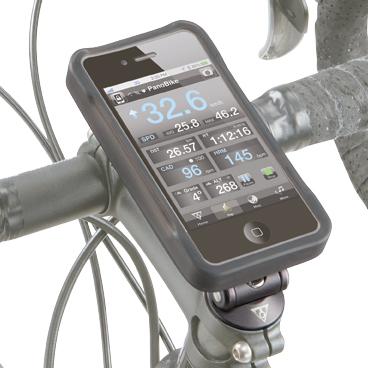 Carcasa Husa Topeak Ridecase Iphone 4, Carbon-Nylon, reglabila, neagra 10