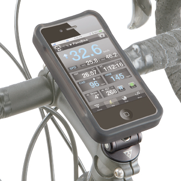 Carcasa Husa Topeak Ridecase Iphone 4, Carbon-Nylon, reglabila, neagra 3