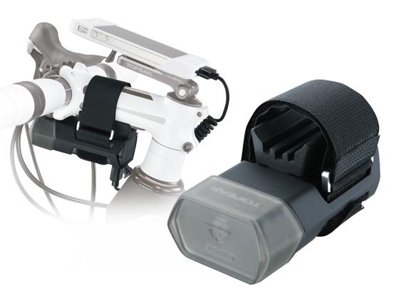 Carcasa Husa Topeak Ridecase Iphone 4, Carbon-Nylon, reglabila, neagra 5