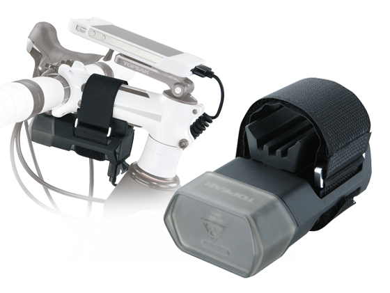 Carcasa Husa Topeak Ridecase Iphone 4, Carbon-Nylon, reglabila, neagra 12