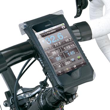 Carcasa Husa Topeak Ridecase Iphone 4, Carbon-Nylon, reglabila, neagra 6