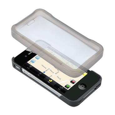 Carcasa Husa Topeak Ridecase Iphone 4, Carbon-Nylon, reglabila, neagra 2