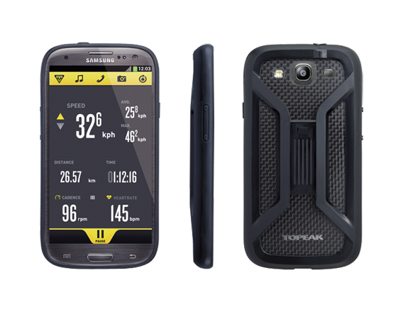 Carcasa Husa Topeak Ridecase Samsung Galaxy S3, reglabila, anti-shock, neagra [2]