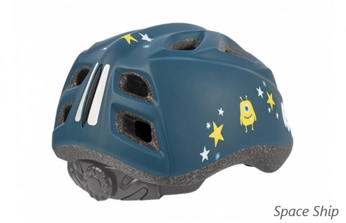 Casca Copii Polisport Spaceship, albastru inchis, XS(42-52) 4