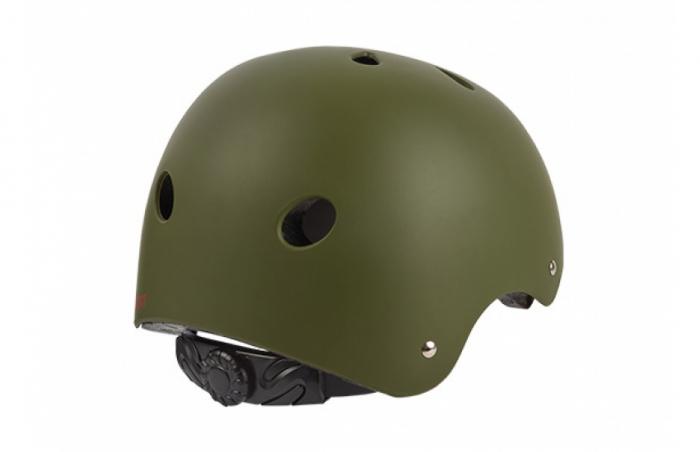 Casca Dirt-Bmx Polisport Urban Radical, unisize(53-55), negru/verde 1