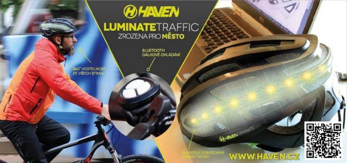 Casca Mtb Haven Luminate Traffic Negru L/Xl 1