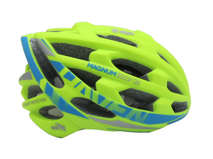 Casca Mtb Haven Magnum Verde/Albastru L/Xl 3