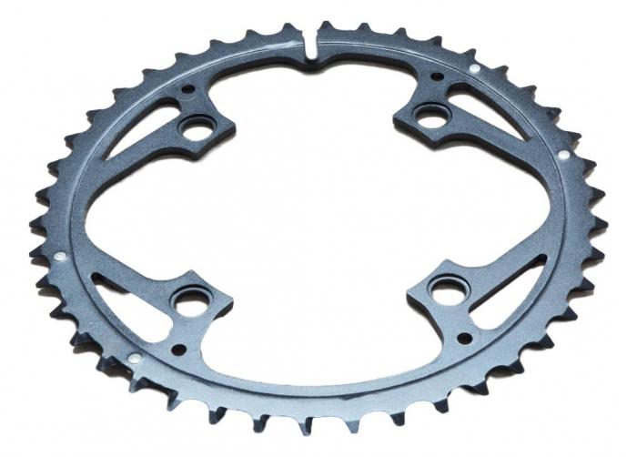 Chain Ring Mtb 42T V4 104 Alum 3Mm Blast Black [0]