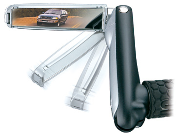 Coarne Cu Oglinda Bar'N Mirror - Topeak, Alu-plastic, negre-argintiu 1