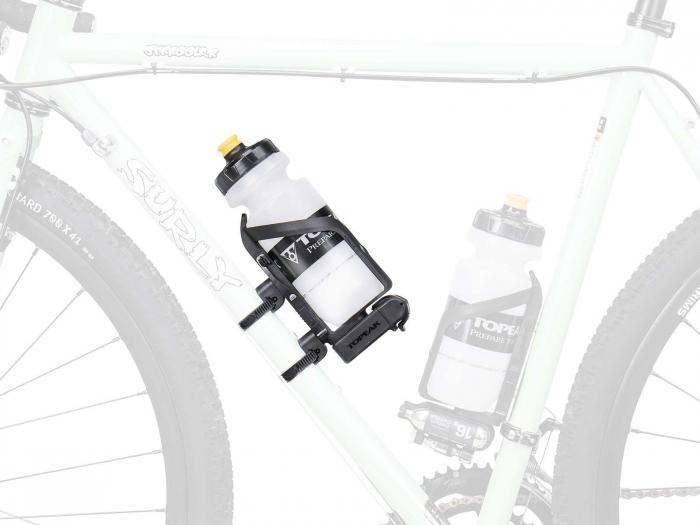 Coliere Din Plastic Topeak Versamount Tvm01, suport bidon/scule, negru 2