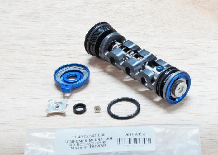 Compression Damper, Crown Adjust, Black, Motion Control Rct3 Dna (Includes Comp Damper And Knobs) - 2009-2012 Sid (80/100Mm Chassis Only) 2
