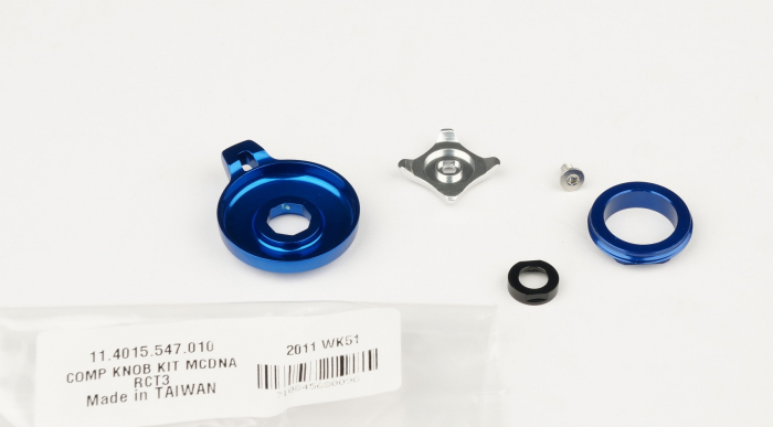 Compression Knob Kit, Motion Control Dna - 2012 Sid Rct3/Wc / 2012 Revelation Rct3/Wc 1