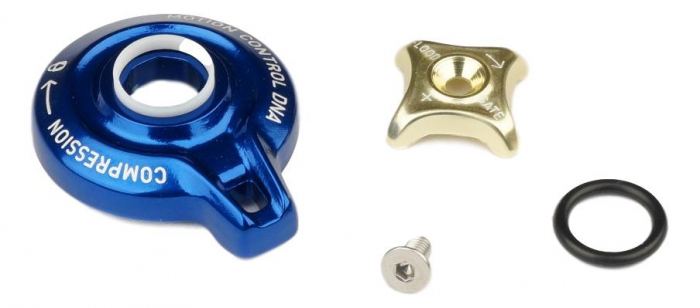 Compression Knob Kit, Motion Control Dna - 2012 Sid Rlt/2012 Revelation Rlt 0