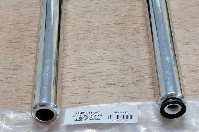 "Csu Aluminum Steerer 1 1/8"" 350Mm Black Crown - Xc30 [3]"