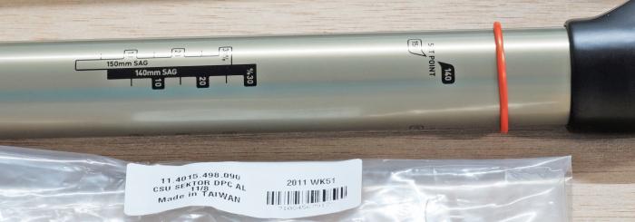 "Csu Dual Position Coil Aluminum Steerer 11/8"" Sektor 3"