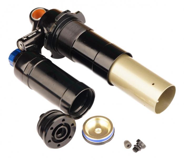 Damper Body/Reservoir Assy, 200X57/203X57 (Assembled) 2011 Vivid R2C (Compatible With 2009-2010) 0