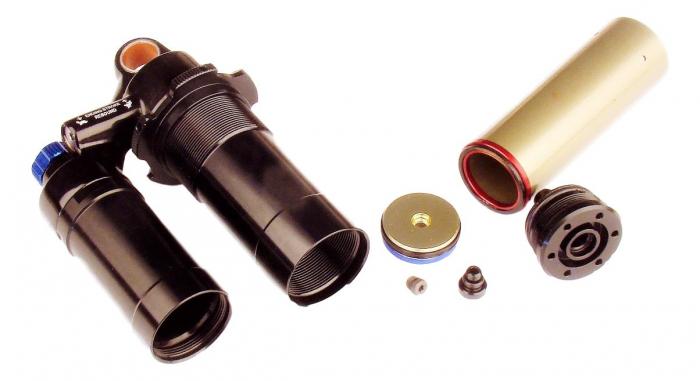 Damper Body/Reservoir Assy, 216X63/222X70/229X70 (Assembled) 2011 Vivid R2C (Compatible With 2009-2010) 0