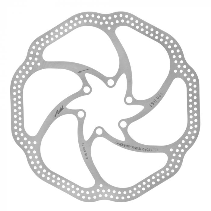 Disc Frana Avid Heat Shedding 170 suruburi incluse, argintiu 0