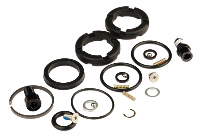 Domain Damper Service Kit (Comp/Rebound) (Bottom Out Bumpers) [0]