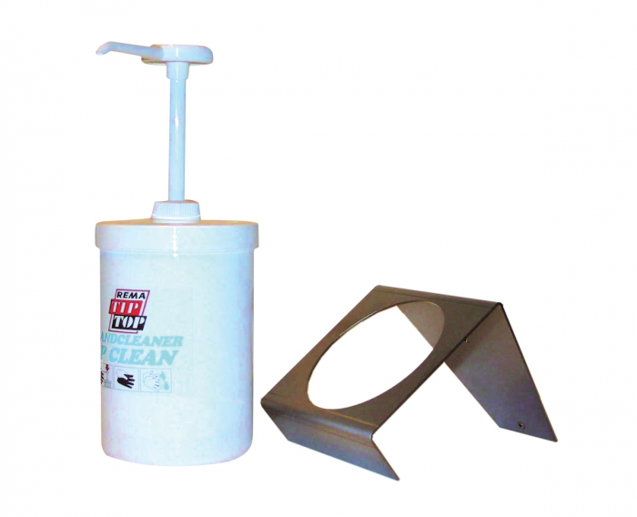 Dozator Pasta Maini Top-Clean, cu cap-pompa, alb [1]