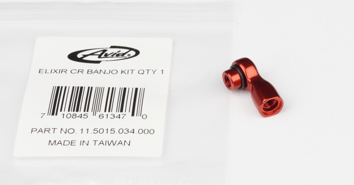 Elixir R/Cr/Cr Mag/X0/Elixir 9/Elixir 7 Banjo Kit, Red, Qty 1 2