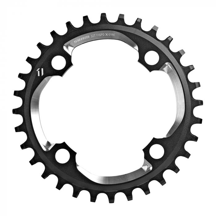 Foaie Angrenaj X01 X-Sync 36T, special 11vit, negru 0