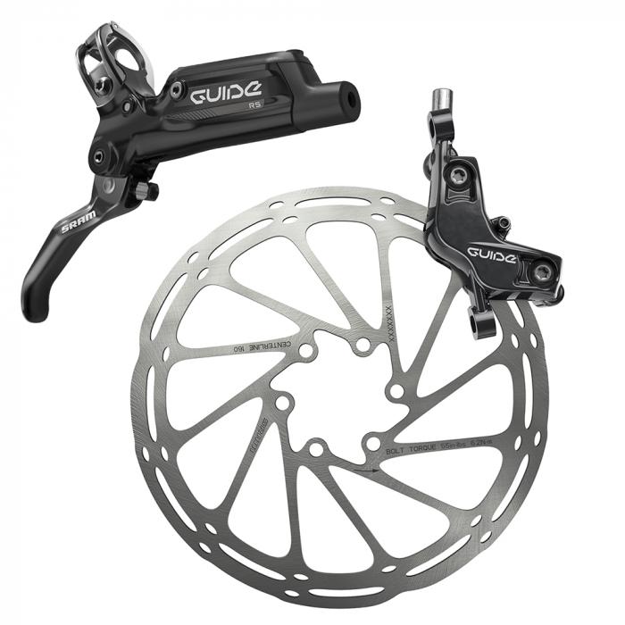Frana Disc Hidraulica Sram Guide Rs Spate  R1800 B1, rotor+adaptor 0