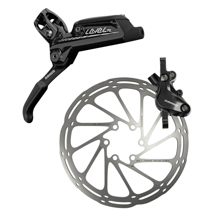 Frana Disc Hidraulica Sram Level Tl Spate 1800 A1, rotor+adaptor separat [0]