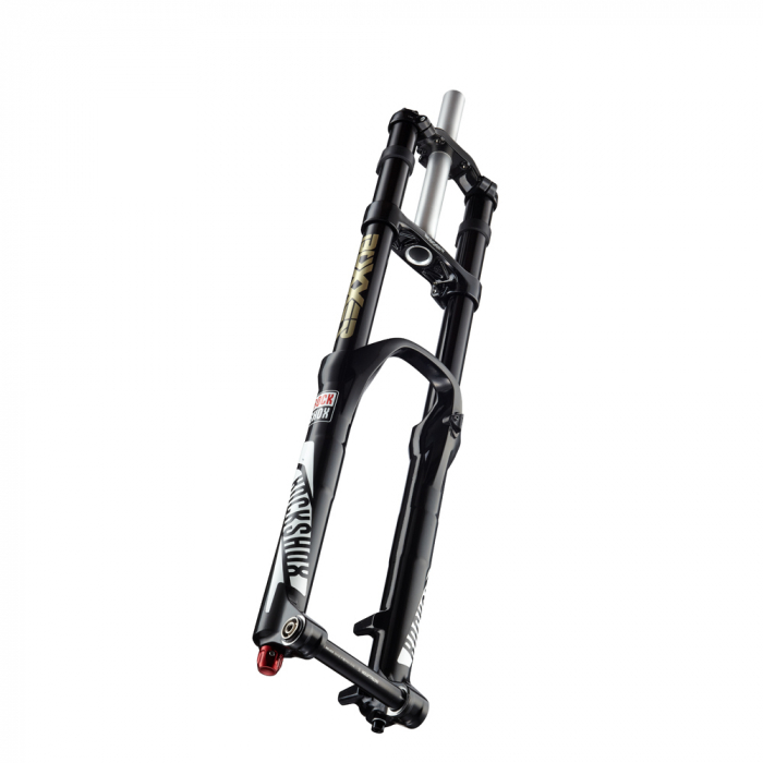 Furca Bicicleta Rockshox Boxxer W.C. 26 Inch, SoloAir200, brate35negre, Charger,Reb,Compr, MaxleDH20, Disc PM, neagra 2