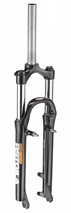 Furca Bicicleta Rst Gila 26-T, 1-1/8, Disc PM(max.180)/V-Brake,offset38, Qr9, neagra 0