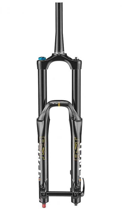 Furca Bicicleta Rst Stitch Fr 27,5,Tapered, Disc PM(max.203),offset43, brate36, ax Qr20, neagra [0]