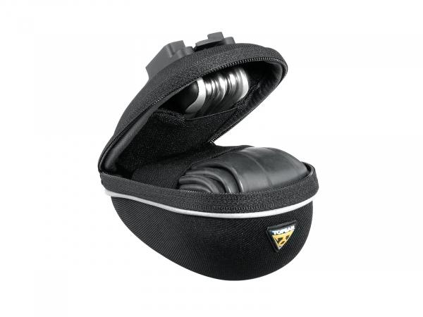 "Geanta-Borseta Sub-Sa Topeak Propack Marime Micro, 0.3L, protectie spuma, prindere QR F25 sa, micro"", neagra 6"