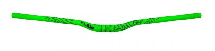 "Ghidon Azonic Flow, Curbat, 31.8, L750, Rise 2"", Anodizat Verde Neon [4]"
