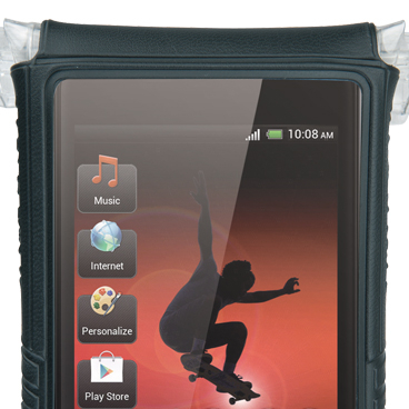 Husa Ghidon Topeak Smartphone Drybag 4, anti-shock-apa, negru [9]