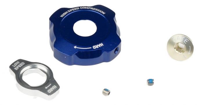 Knob Kit, Compression Damper, Mission Control - 2012 Lyrik/Totem [0]