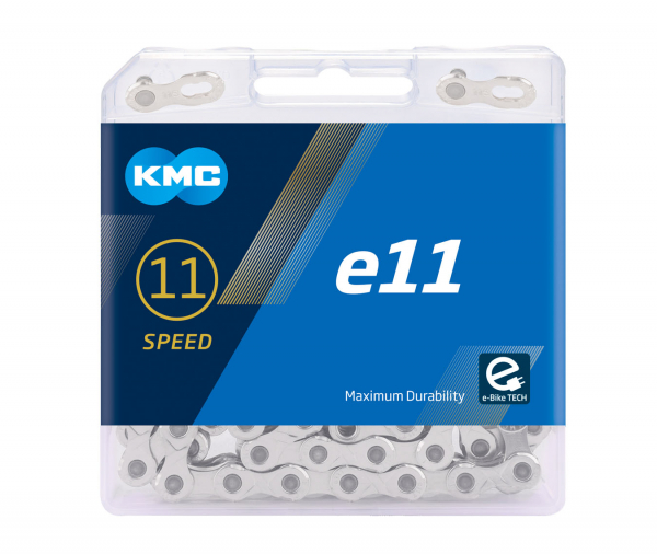 Lant KMC E11 Turbo, 136zale, argintiu 0