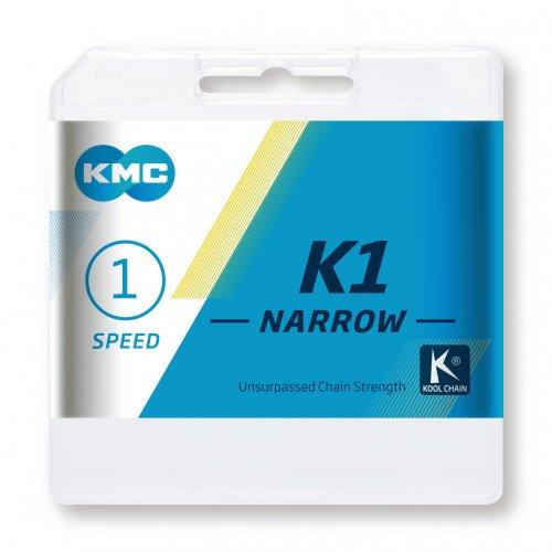Lant KMC K1 Wide, 110 zale, Argintiu [1]
