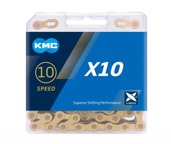 Lant KMC X10, 116 zale, gri [0]