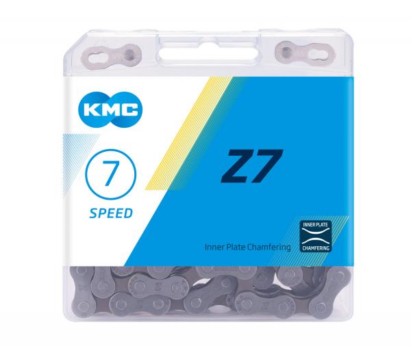 Lant KMC Z7, 116 zale, argintiu-maro 0