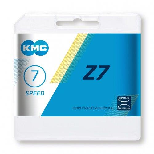 Lant KMC Z7, 116 zale, argintiu-maro 2