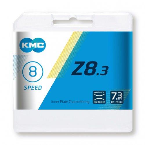 Lant KMC Z8.3, 116zale, argintiu-gri [2]