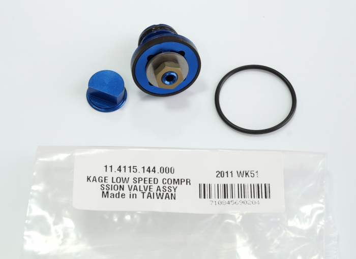 Low Speed Compression Valve Assy (Assembled) - Kage (0204) 1