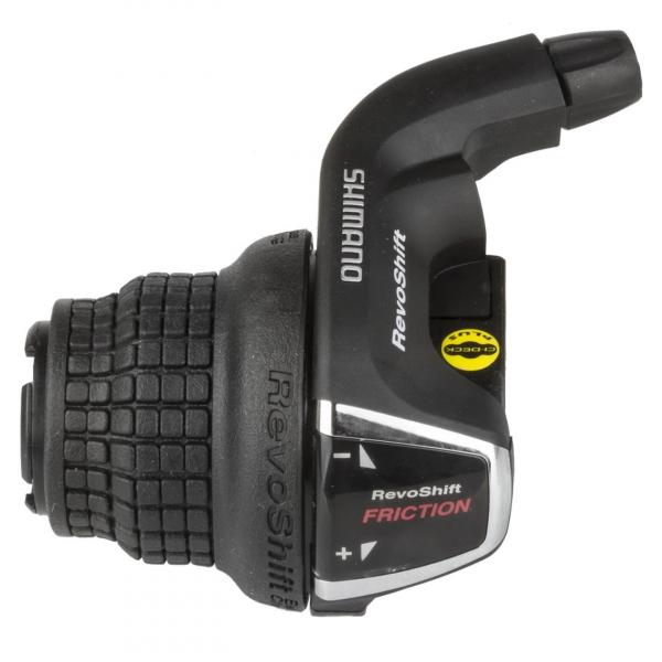Maneta schimbator stanga-fata Shimano Tourney REVO SL-RS35-LN 0