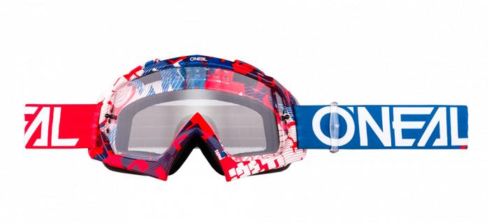 Ochelari O'Neal B-10 Pixel hi-viz Albastru 0