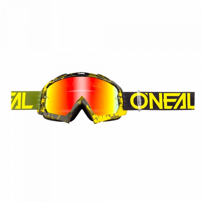 Ochelari O'Neal B-10 Pixel Radium Hi-Viz 0