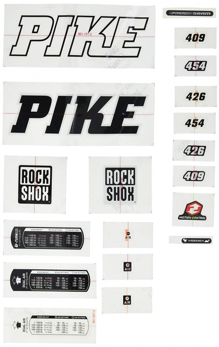 Pike Decal Kit 0