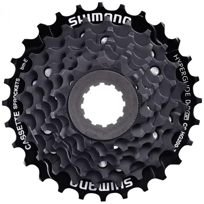 Pinioane Casetate Shimano Hg200, 7Vit, 12-32T, Negre 0