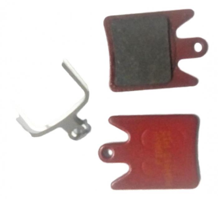 Placute Frana Disc Fibrax Semi-Organice Ash913 0